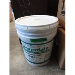 5 Gallons of Cloverdale 1 Coat Interior Latex