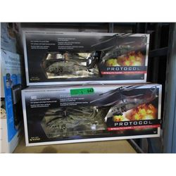5 R/C Helicopters - Store returns