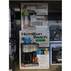Hamilton Beach Rice Cooker & Coffee Maker