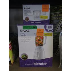 Rival Food Chopper & Blender