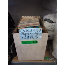 125 Comic Books