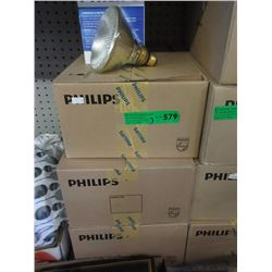 3 Cases of 60 Watt Incandescent Flood Bulbs