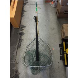 5 Foot Fishing Net & Trout Rod