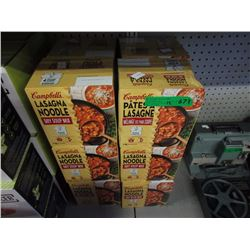 12 Cartons of Lasagna Noodle Soup Mix