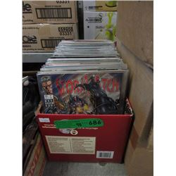 Approximately 150 Comic Books