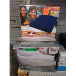 Inflatable Queen Size Mattress & More