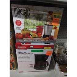 Magic Bullet & Coffee Maker