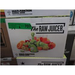 6 New Raw Juicers