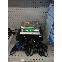 PlayStation 2 with Games & Controllers