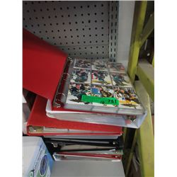 10 Binders of Hockey Trading Cards