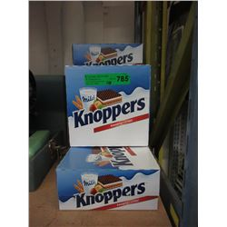10 Cases of Knoppers Chocolate Wafers