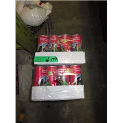 2 Cases of Raspberry Beverage