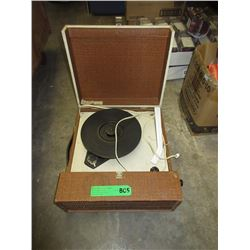 Vintage Portable RCA Record Player