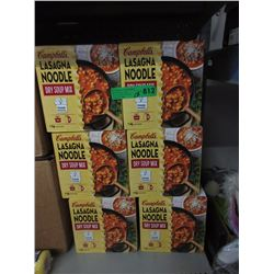 12 Cases of Lasagna Noodle Dry Soup Mix
