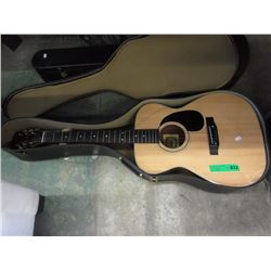 Anjo F62 Acoustic Guitar with Fitted Case