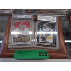 2 Graded Hockey Cards/ Antti Niemi & Alex Ovechkin