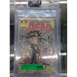 Graded Walking Dead Comic Book