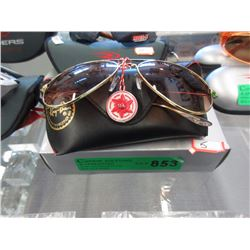 New Ray Ban Aviator Sunglasses with Case & Box