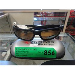 """New Ryder """"Tidal"""" Polarized Sunglasses with Case"""