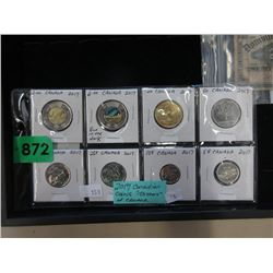 """2017 Canadian """"150 Years of Canada"""" Coins"""