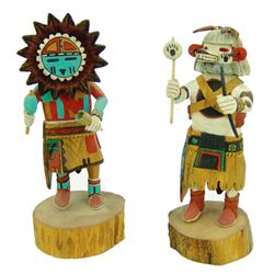 2 Hopi Kachina Carvings - Troy Nash