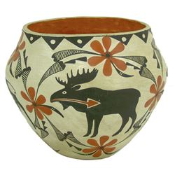 Acoma Pottery Jar - Mildred Antonio