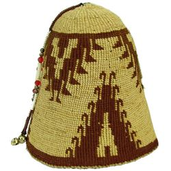 Nez Perce Basket Hat