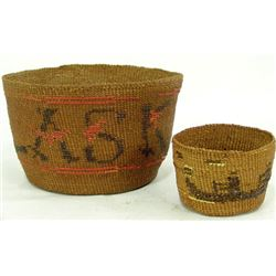 2 Tsimshian Baskets