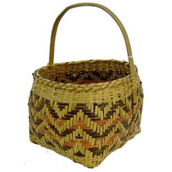 Chocktaw/Cherokee Basket