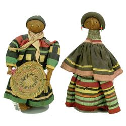 2 Seminole Dolls