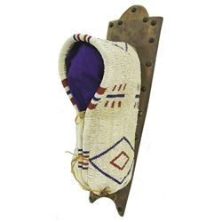 Southern Cheyenne Beaded Toy Cradleboard