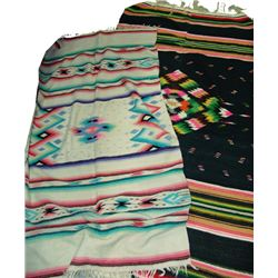 2 Mexican Blankets
