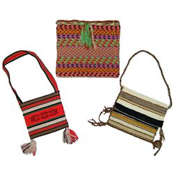 3 Woven Hand Bags