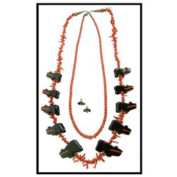 Coral & Fetish Necklaces