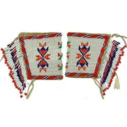 Sioux Beaded Cuffs