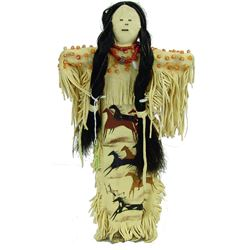 Plains Buckskin Doll