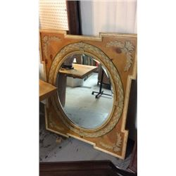 Hand Painted Pine Mirror By Arden Hall