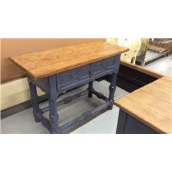 Century Farm Style Entry Table With Drawer