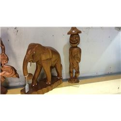 2 Wood Carvings