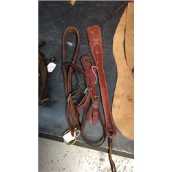 Tie Down Spur Straps And Quirt
