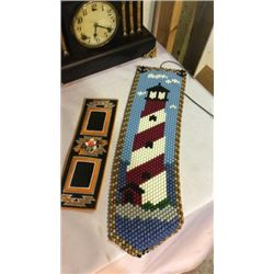 Beaded Lighthouse and Southwest Needle Work
