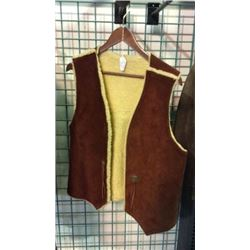 Handmade Sheep Skin Vest