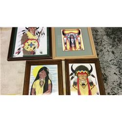 4 Framed Art by Kenny LeCompte