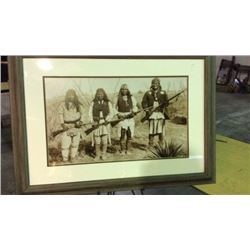 Framed Reproduction Photo