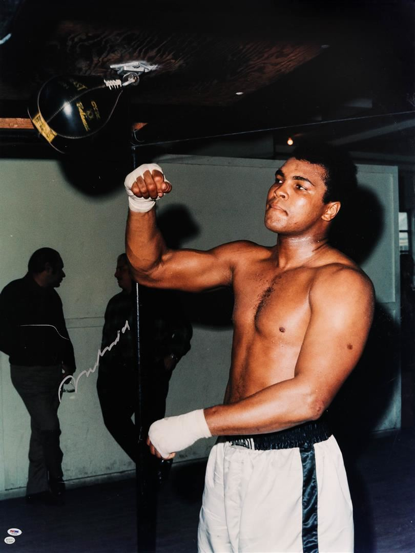muhammad ali coloring pages - muhammad ali training on speedbag color print come to