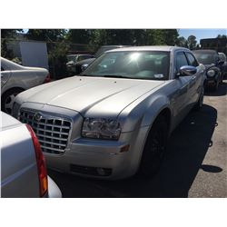 2005 CHRYSLER 300 TOURING, 4 DOOR SEDAN, GREY, VIN#2C3JA53G05H645505, 265,319KMS, AUTOMATIC,