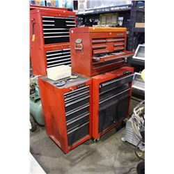 2 PIECE ROLLING TOOL CABINET WITH CONTENTS