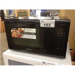 PANASONIC COUNTERTOP HIGH POWER DIGITAL MICROWAVE, BLACK, USED