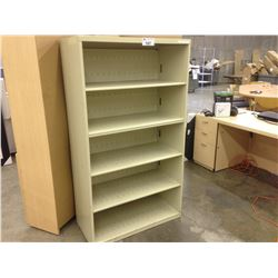 BEIGE 5.5'' 5 SHELF BOOK CASE