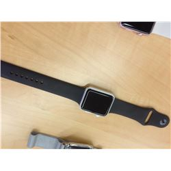 APPLE WATCH SERIES 1 42MM, SPACE GREY, SERIAL NUMBER FHLPFBD3G9J5, *LOCKED IN DEMO MODE, NEEDS